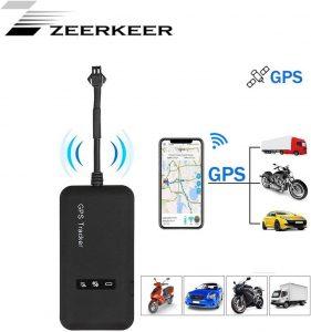 Localizador GPS para vehículos con Alarma antirrobo Zeerkeer