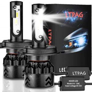 Bombilla LED H4 para coche LTPAG 12V/24V