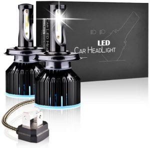 Bombilla LED H4 para coche LTPAG 12V/36V