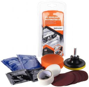 Kit para pulir faros de coches Moonvvin