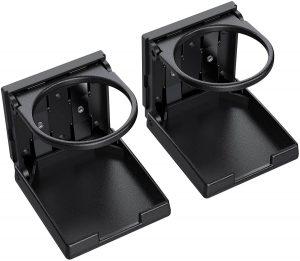AUTOUTLET - Portavasos para coche ajustable